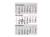 3-Monats Kalender