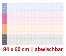XL Dauerkalender abwischbar V2 Quermonate