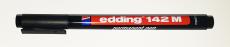 1.0mm Edding Folienstift 142M permanent - Schwarz