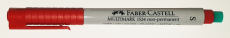 0.4 mm Faber-Castell Multimark S non-permanent rot