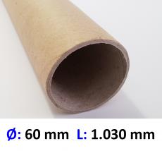Hartpapierhülse 60 x 2 x 1030 mm