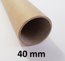 Hartpapierhülse 40 x 2 x 600 mm