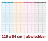 Mega-XXL Dauerkalender abwischbar