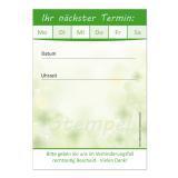Terminblock-511 (32 Stück) Natur Grün Kleeblatt