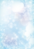 Designpapier-204 DIN-A4 (100 Blatt)  Winter Blau
