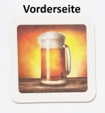 50 Motiv-Briedeckel-300 2-Seitig Bier/Drink