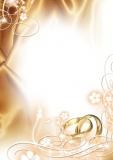 Designpapier-206 DIN-A4 (100 Blatt)  Hochzeitpapier