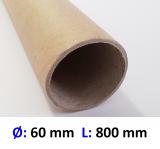 Hartpapierhülse 60 x 2 x 800 mm