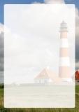 Designpapier-210 DIN-A4 (100 Blatt)  Nordsee Leuchtturm