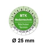 Plaketten MTK Medizintechnik - grün