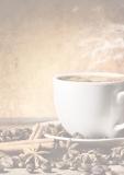 Designpapier-217 DIN-A4 (100 Blatt)  Kaffeetasse
