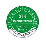 Plaketten STK Medizintechnik - grün