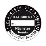 Plaketten Kalibriert - 30 mm Schwarz