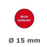 Plaketten nicht Kalibriert - 15 mm rot