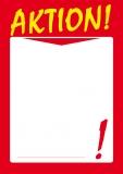 Designpapier-223 DIN-A4 (100 Blatt)  Angebotspapier Rot Schaufenster
