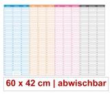 XL Dauerkalender abwischbar