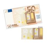 Spielgeld 50 EUR - 100 Banknoten