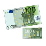 Spielgeld 100 EUR - 100 Banknoten