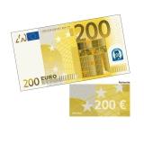 Spielgeld 200 EUR - 100 Banknoten