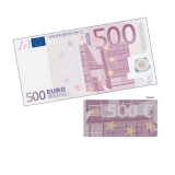 Spielgeld 500 EUR - 100 Banknoten
