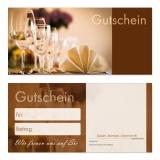 Gutschein-206 (50 Stück) Restaurant Hotel