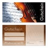 Gutschein-208 (50 Stück) Musik