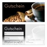 Gutschein-211 (50 Stück) Kaffee