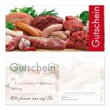 Gutschein-213 (50 Stück) Fleischerei