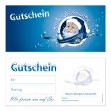 Gutschein-214 (50 Stück) Weihnachten neutral