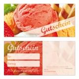 Gutschein-215 (50 Stück) Speiseeis