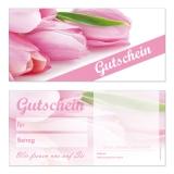 Gutschein-217 (50 Stück) Blumen3