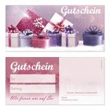Gutschein-225 (50 Stück) Geschenke neutral