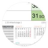 XL Color-Wandkalender 2020