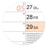 XL Color-Wandkalender 2021